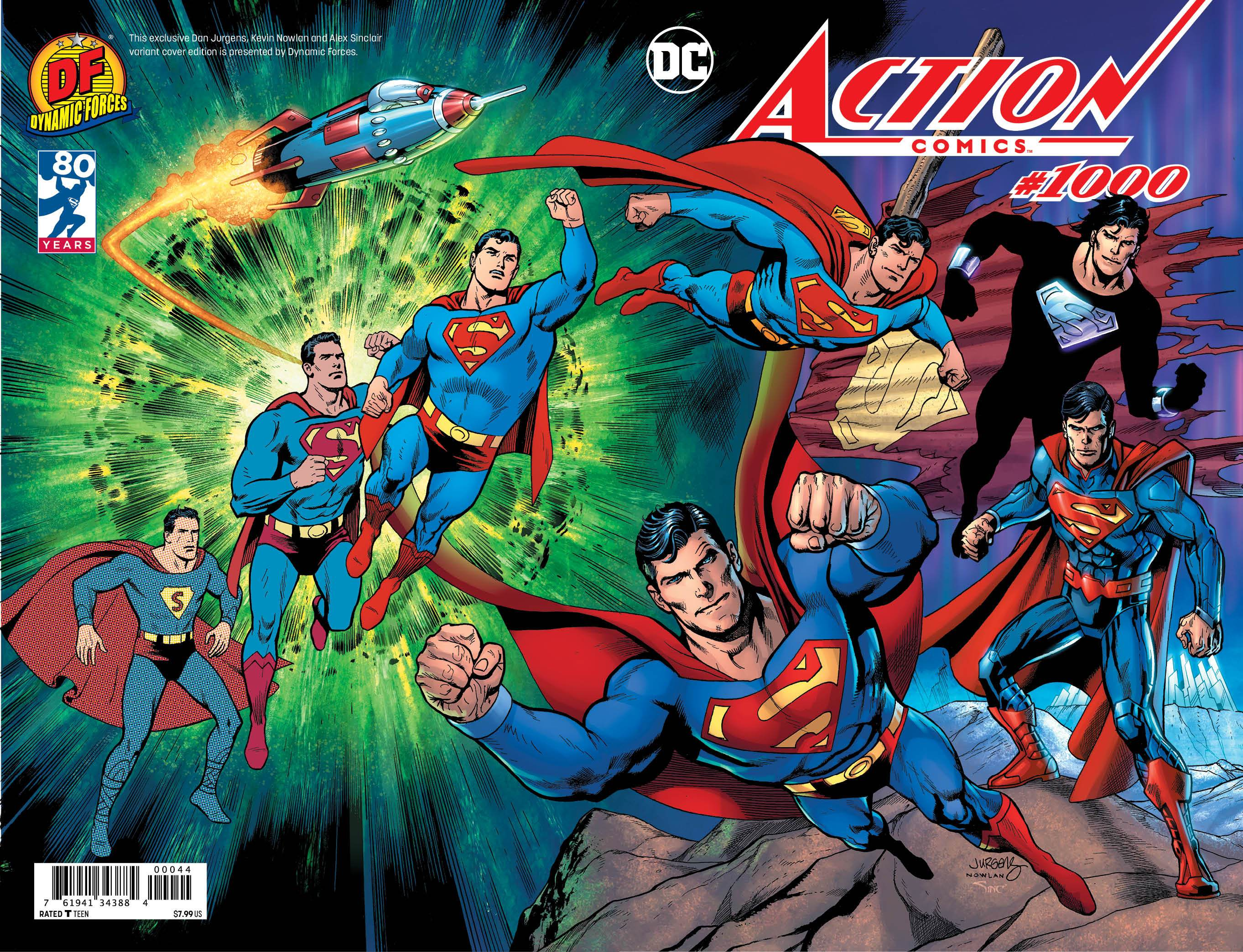 Action-1000-Cover-Dan-Jurgens-Kevin-Nowlan-Alex-Sinclair-Trade-Dress-DYNAMIC-FORCES