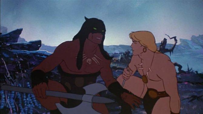 Darkwolf e Larn da Fire and Ice.